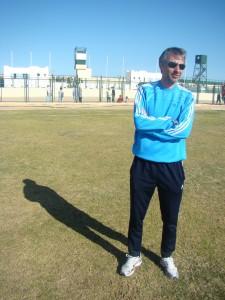 20-krotny reprezentant Polski Ryszard Komornicki przez rok pracował w El Gouna FC